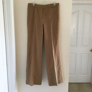 KORS MICHAEL 100% CAMEL HAIR PANTS